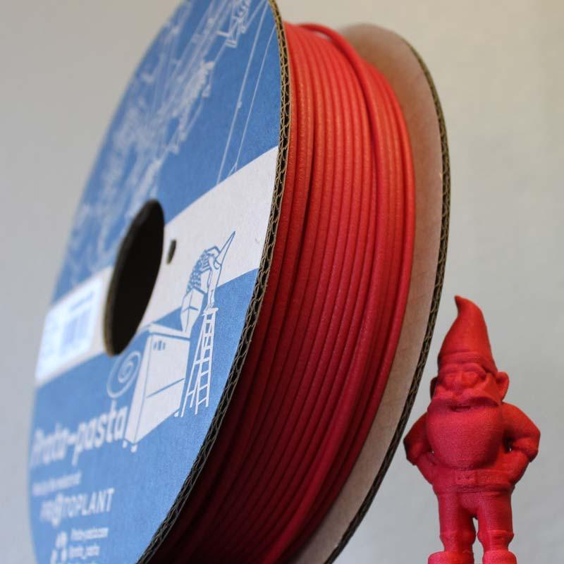 Matte Fiber HTPLA - Red Filament Spool