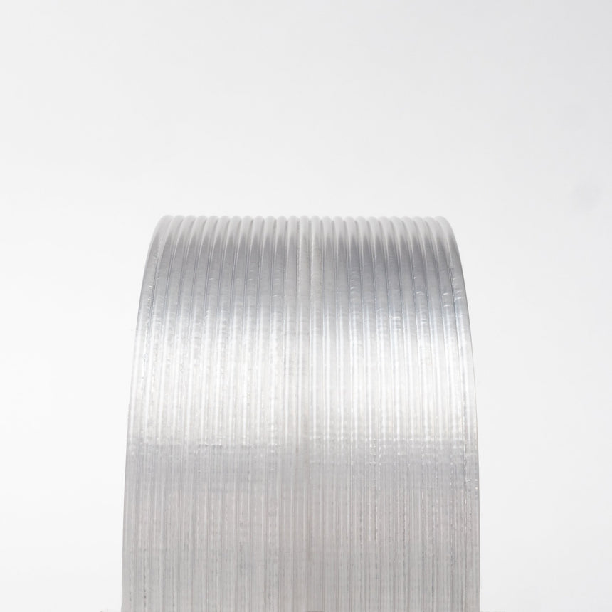 Back-to-Basics Clear 100% Post-industrial Recycled PETG filament