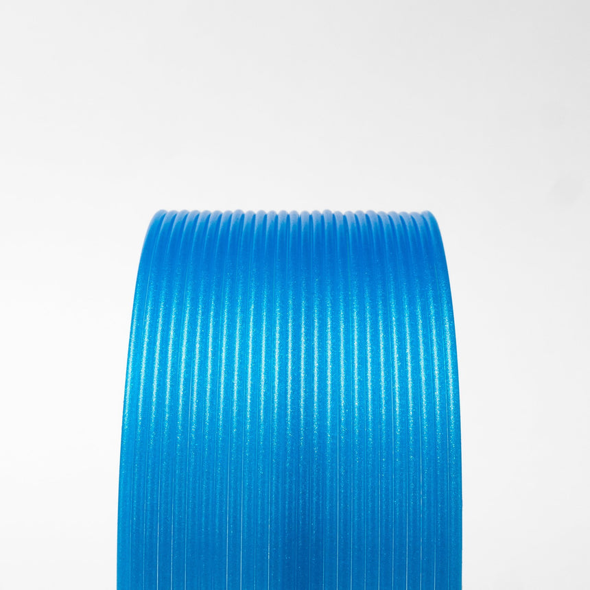 Winter Blue Glitter Flake HTPLA Filament Spool