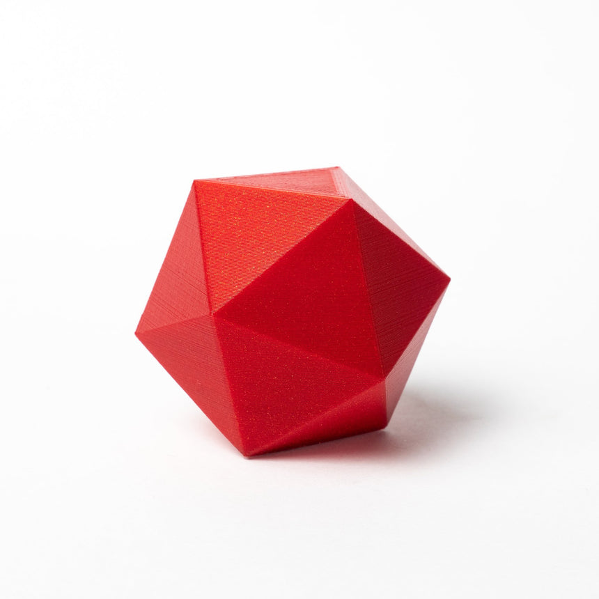 Candy Apple Metallic Red HTPLA 3D Print