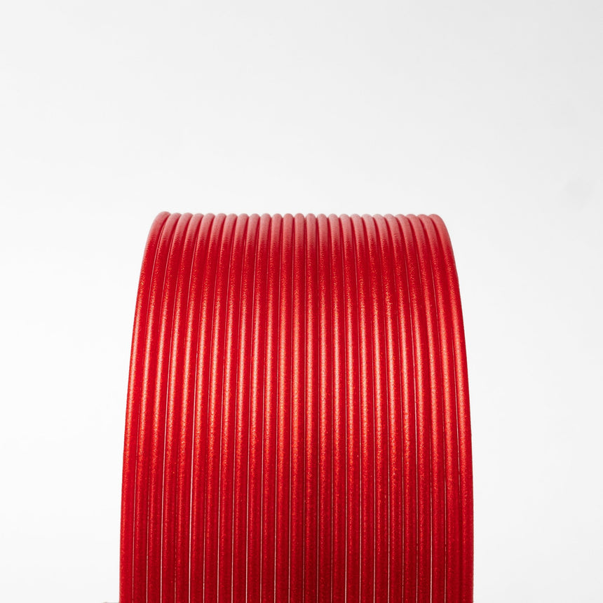 Candy Apple Metallic Red HTPLA Filament Spool
