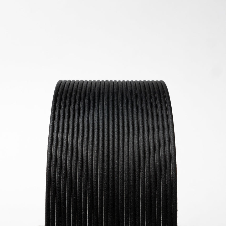 Matte Fiber HTPLA - Black Filament Spool