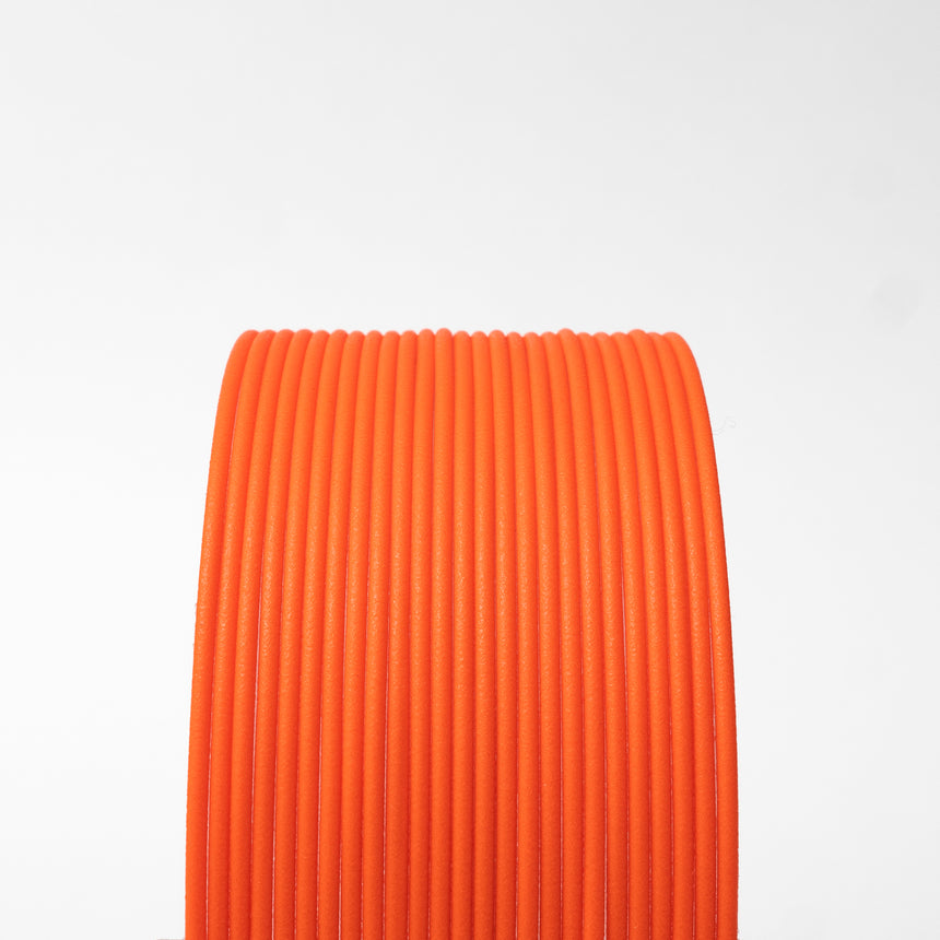 Matte Fiber HTPLA - Orange Filament Spool