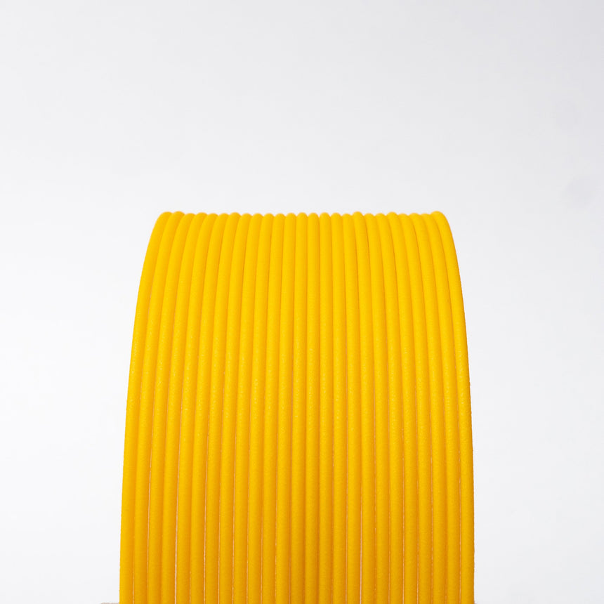 Matte Fiber HTPLA - Yellow Filament Spool