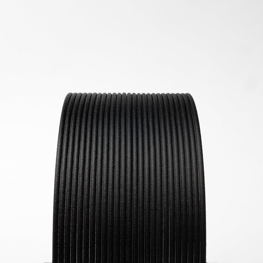 Black Carbon Fiber Composite HTPLA Filament Spool
