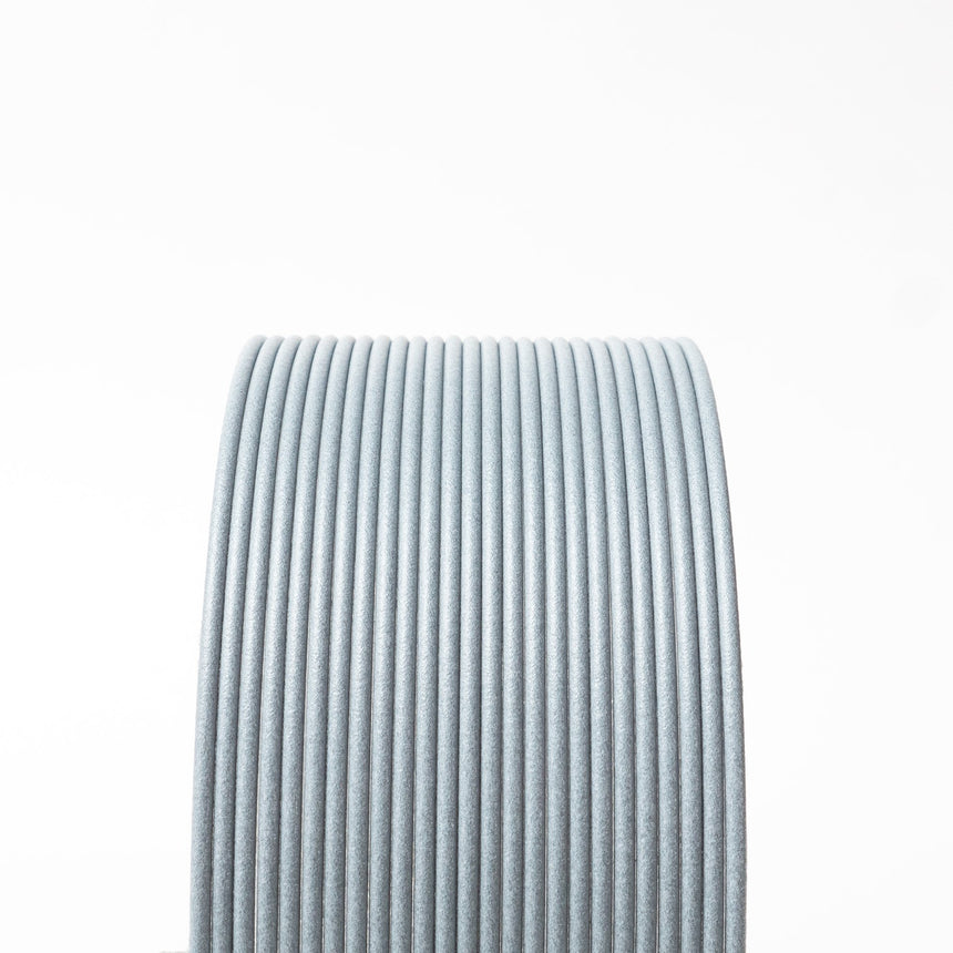 Light Gray Carbon Fiber Composite HTPLA Filament Spool