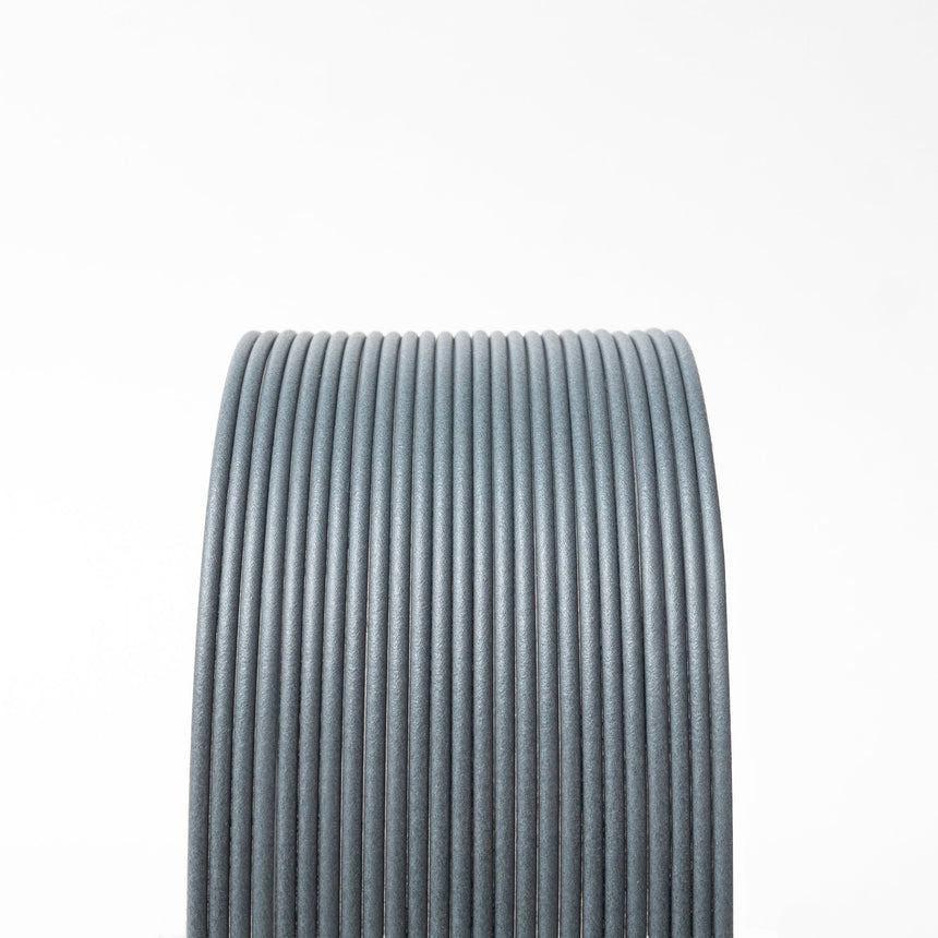 Medium Gray Carbon Fiber Composite HTPLA Filament Spool