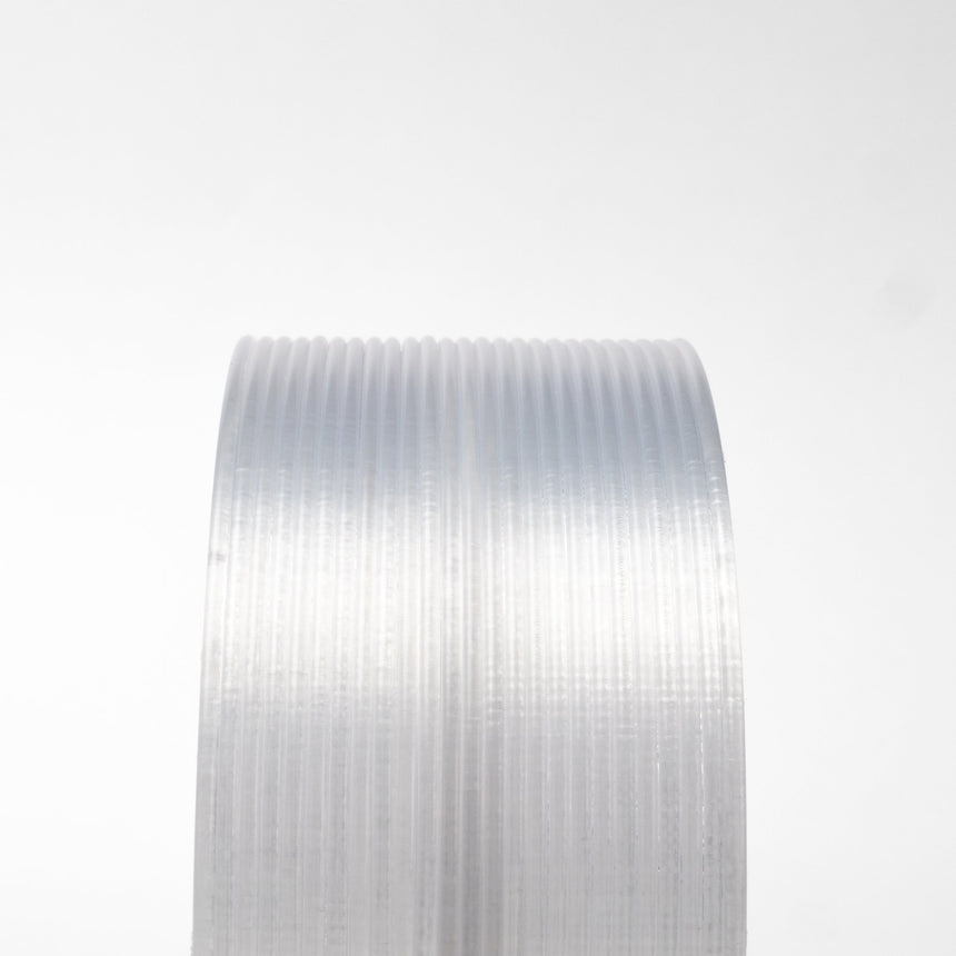 Iridescent Ice Clear Translucent HTPLA Filament Spool