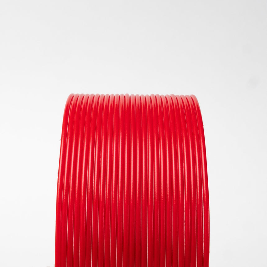 Red Opaque HTPLA Filament Spool