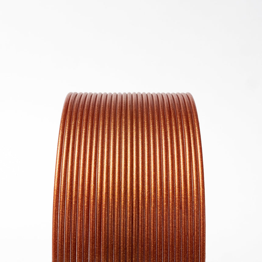 Burnt Orange Metallic Copper HTPLA filament