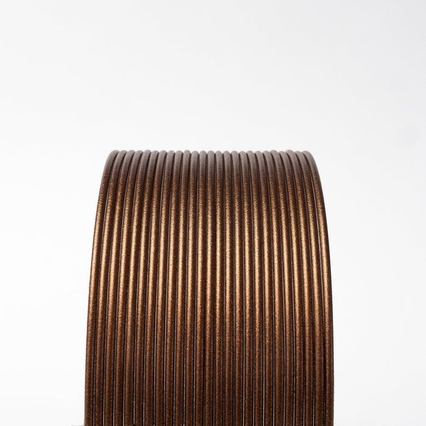 Double Espresso Metallic Brown HTPLA filament