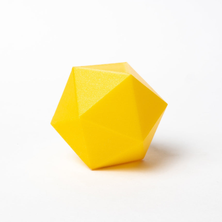 Metallic Yellow PLA Filament 3d print