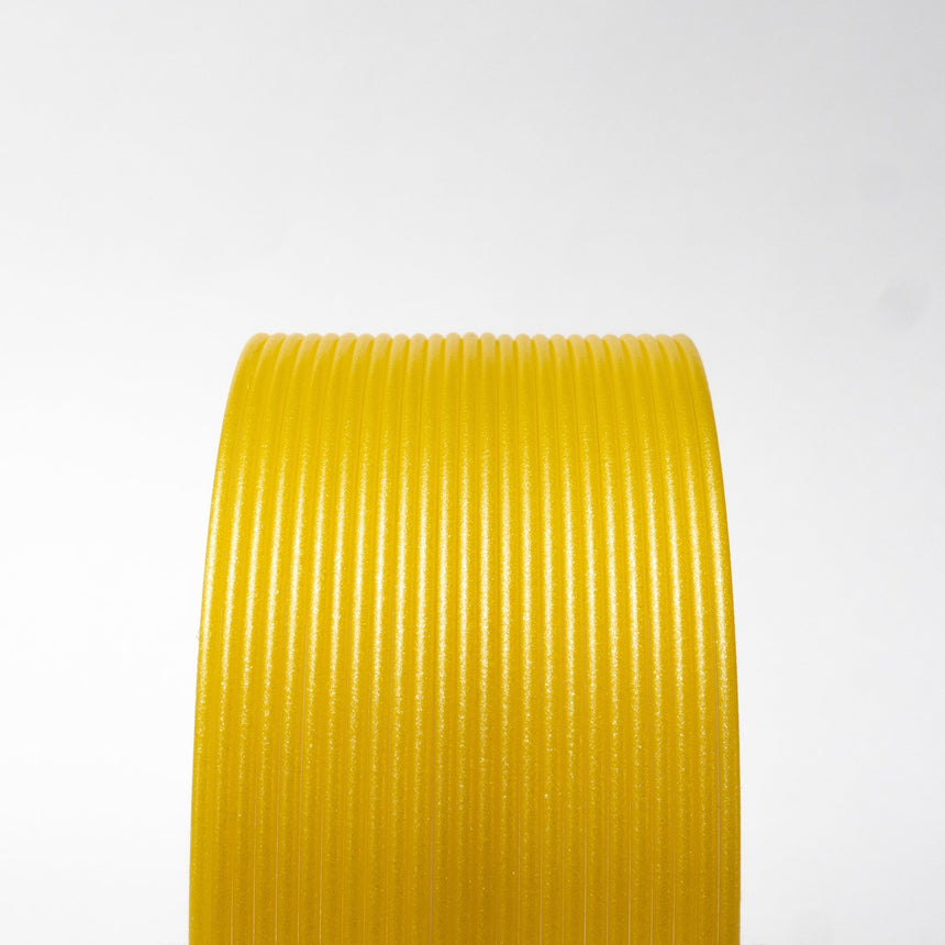 Metallic Yellow PLA Filament
