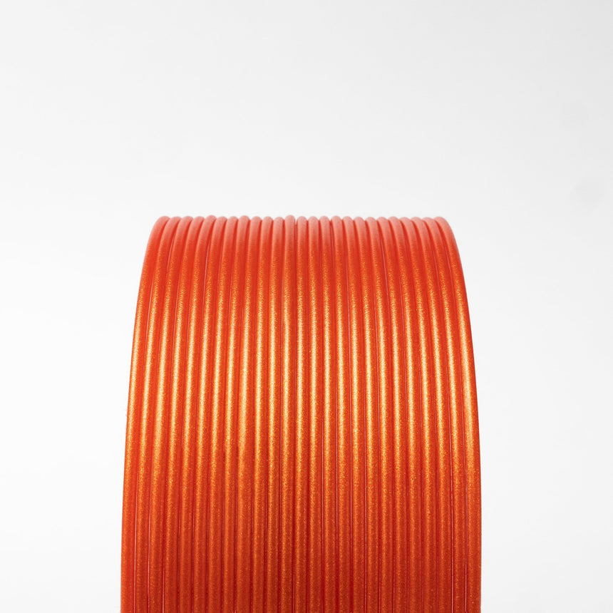 Tangerine Orange Metallic Gold HTPLA Filament