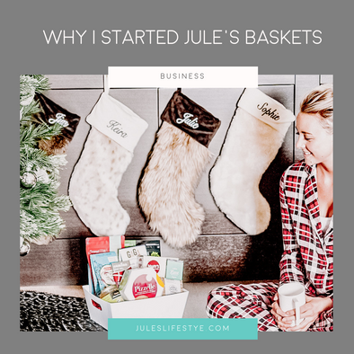 What inspired Jule's Baskets?