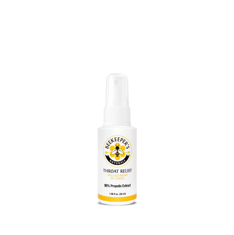 Bee Keeper's Naturals Bee Propolis Throat Spray