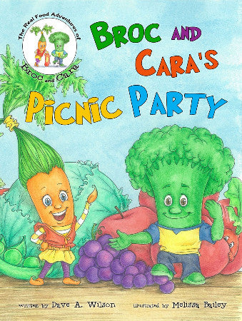 Broc and Cara's Picnic Party Children's Book