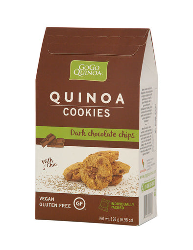 GoGo Quinoa Chocolate Chip Cookies