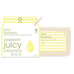 Juicy Bamboo Facial Cleansing Cloths