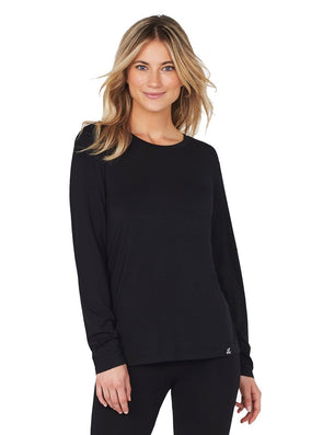 Boody Wear Bamboo Long Sleeve Black Top