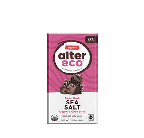 Alter Eco Fair Trade Chocolate Bars