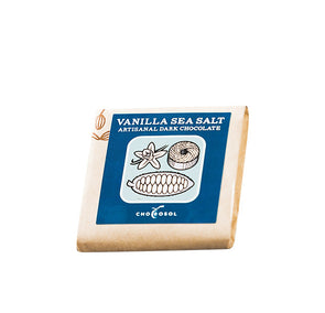 Chocosol Raw Vanilla Sea Salt Chocolate Bar