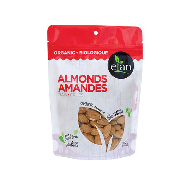 Elan Organic Raw Almonds