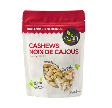Elan Organic Raw Cashews