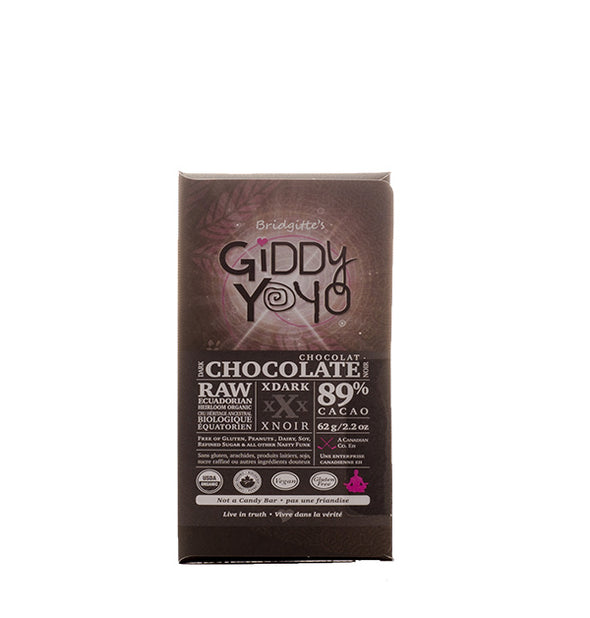 Giddy YoYo Raw Chocolate Bar