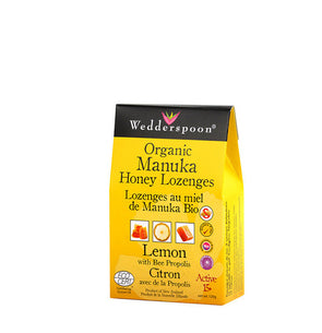 Wedderspoon Manuka Honey Lozenges