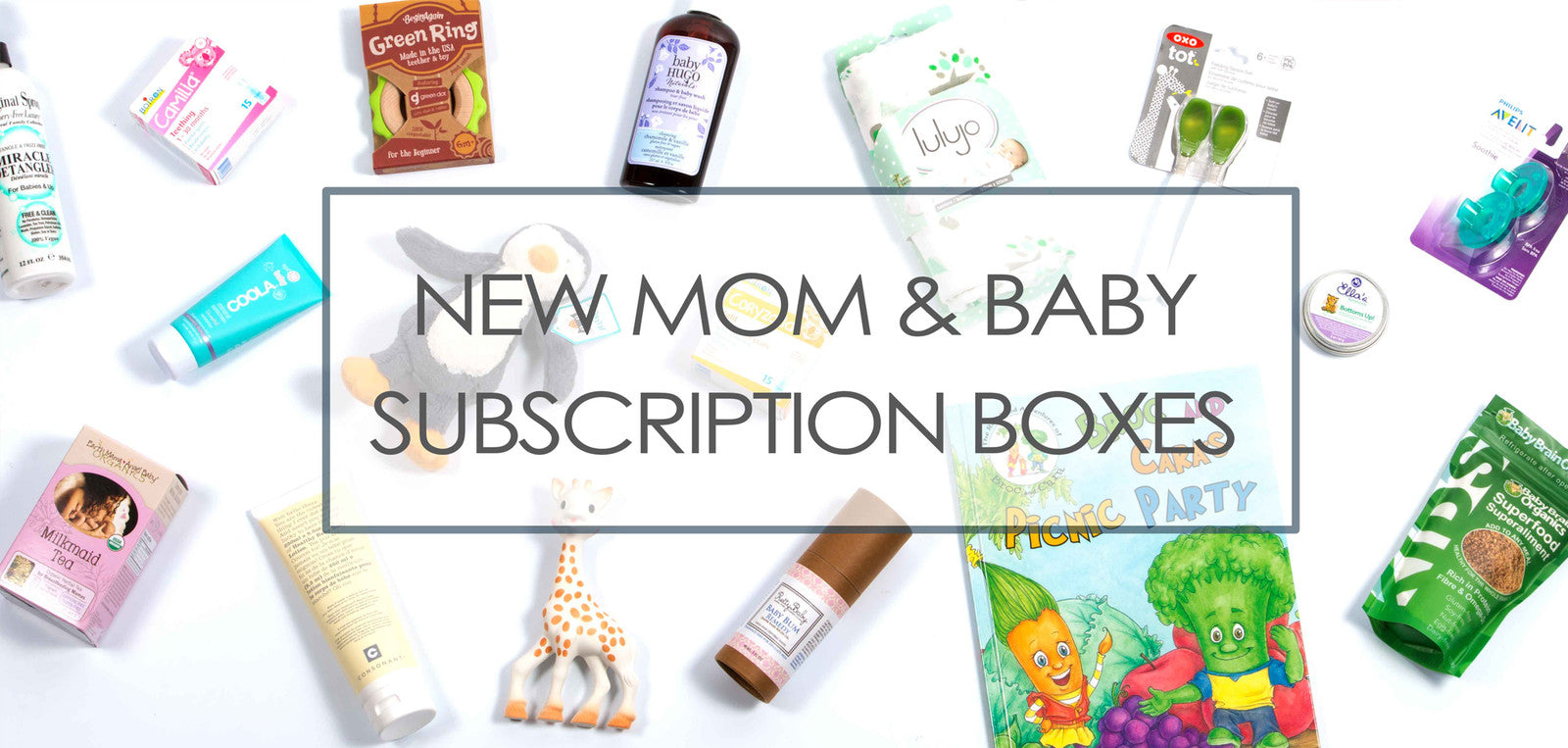 New Mom & Baby Boxes