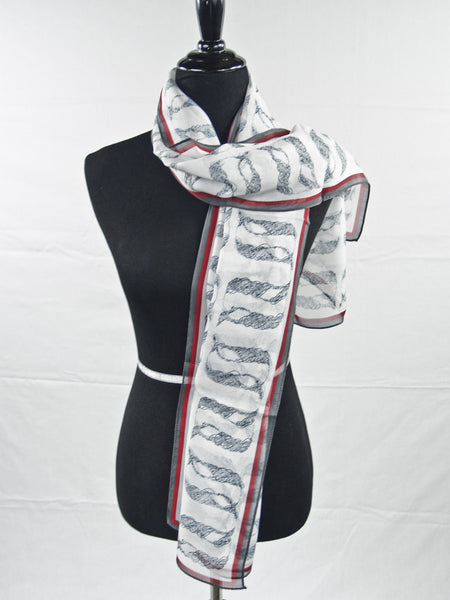 """Beginning"" Silk Scarf by Anet's Collection"