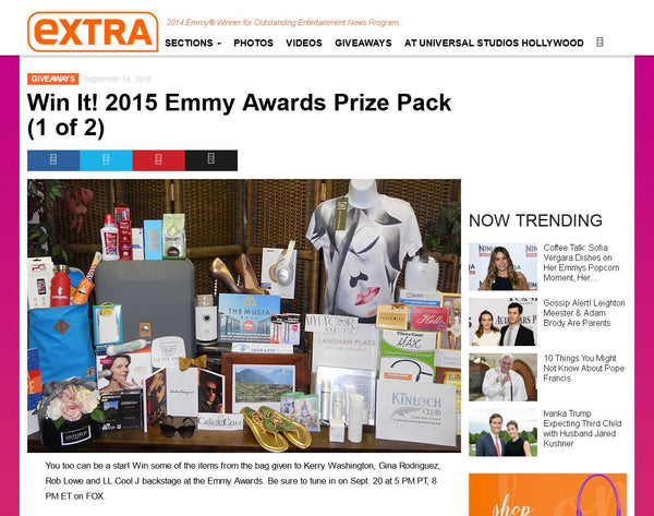 Giveaway Alert: Win the 2015 Emmy Awards Gift Bag!