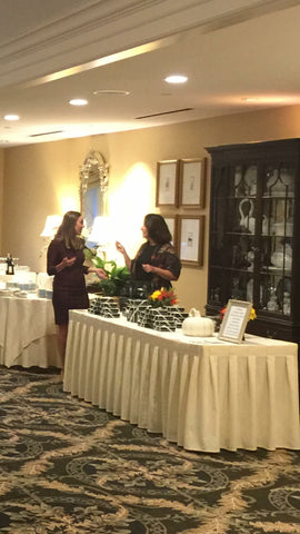 "Anet's Collections ' Armenian Alphabet"" silk scarves were sold in The AMAA 25th Annual Fundraising event at the Wellesley Country Club."