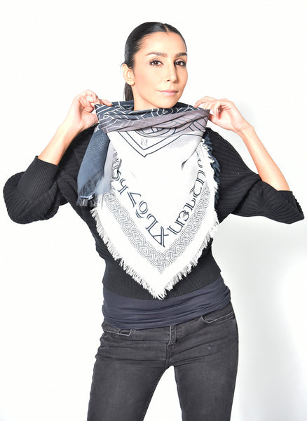 Armenian Alphabet and Eternity Scarf