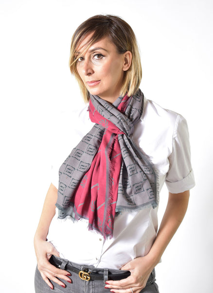 Eternity Burgundy Unisex Scarf - Anet's Collection - 3