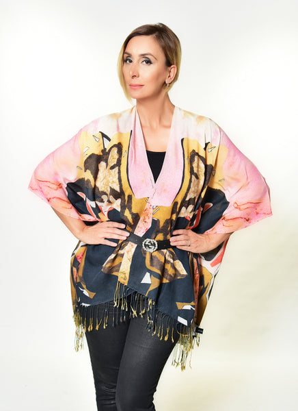 """Lady in the Golden Chair"" Kimono"