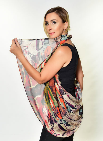 """The King & Queen"" Silk Scarf"
