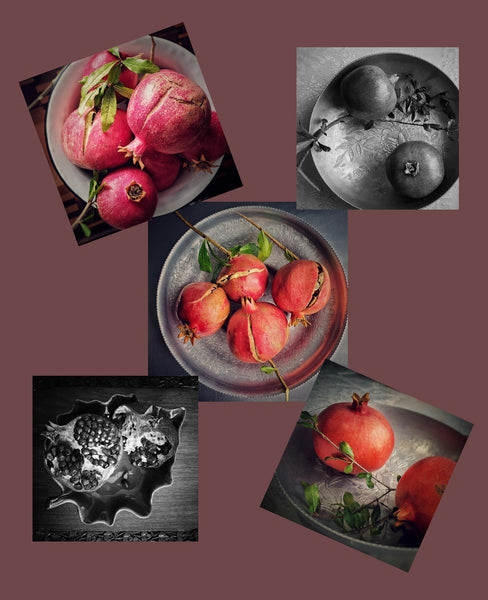 Pomegranate Series Note Cards