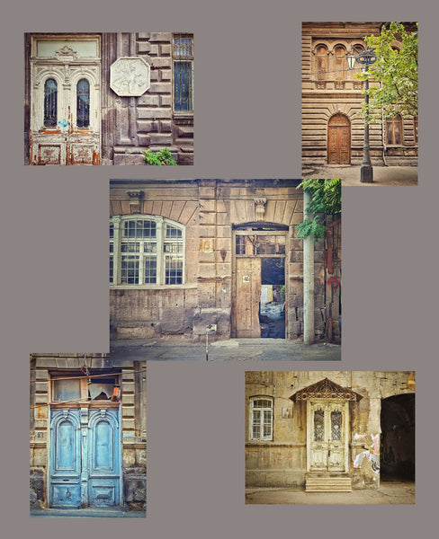 Doors of Yerevan Note Cards