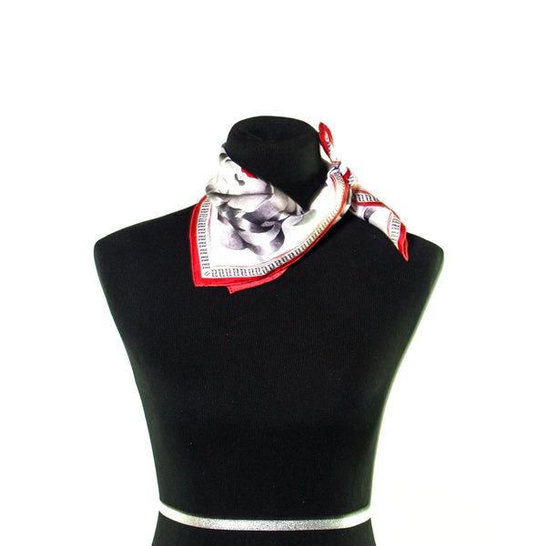 Kisses Neck tie Scarf - Anet's Collection - 5