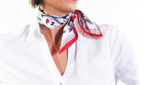 Kisses Neck tie Scarf - Anet's Collection - 1