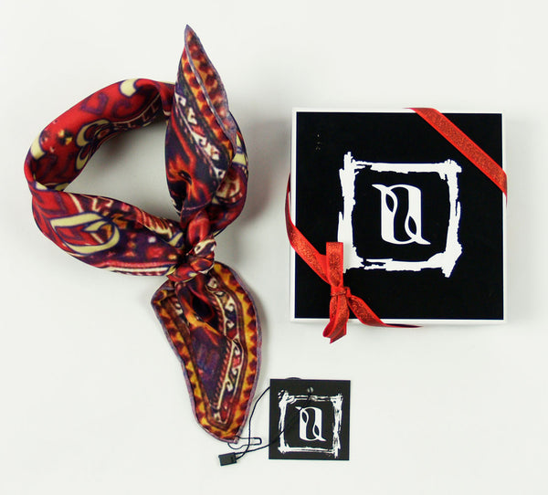 Khali Necktie Scarf - Anet's Collection - 7