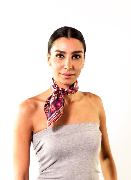 Khali Necktie Scarf - Anet's Collection - 2