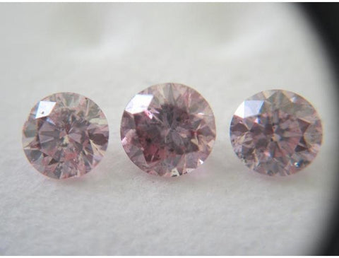 Natural LooseArgyle Pink Diamond Set