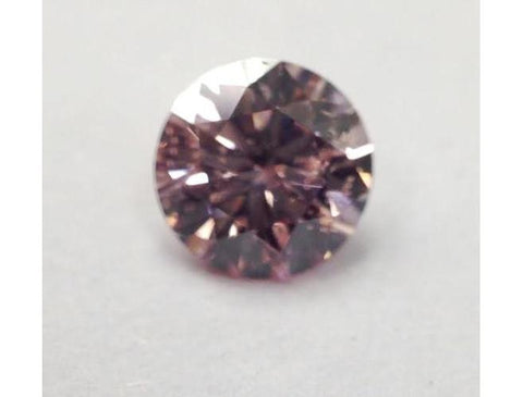 Natural Loose Brilliant Cut Argyle Pink Diamond.