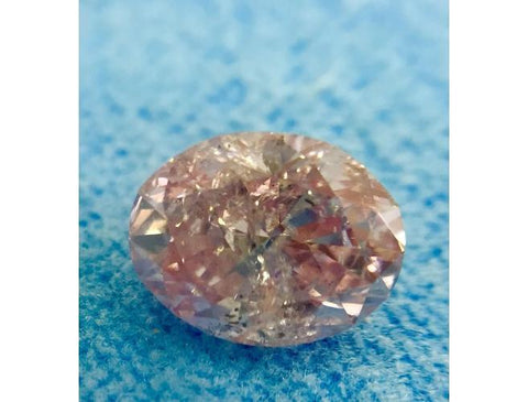 Argyle Oval 0.95 Carat 7PP. Natural Loose Diamond