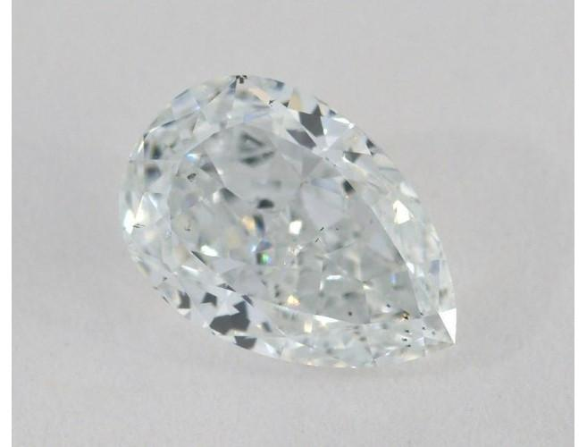 GIA Pear 1.27ct. Light Blue SI2-ColorDiamondsNet