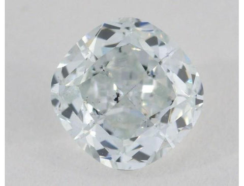GIA Cushion 1.01ct Light Blue SI2-ColorDiamondsNet