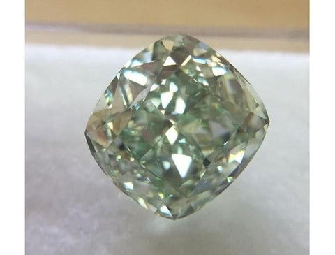 Radiant, 2.00ct. Fancy Intense Yellowish Green, SI1-ColorDiamondsNet